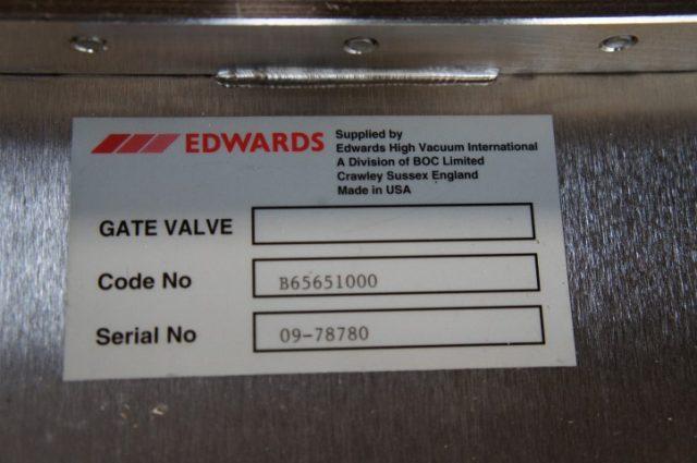 Edwards Pneumatic Vacuum Gate Valve