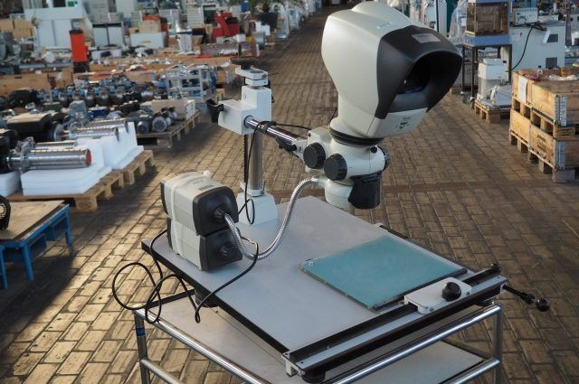 Vision Lynx Inspection Stereo Microscope