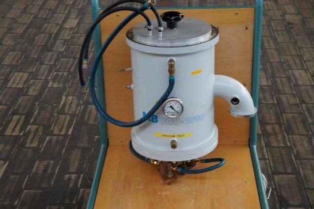 Mbraun vov-1000 pressure vessel