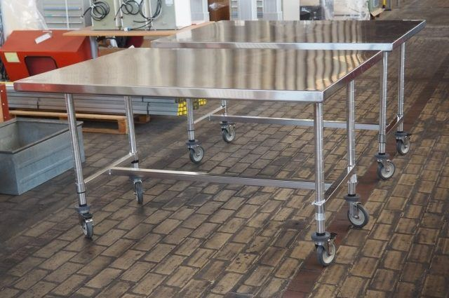 Mobil Stainless Steel Cleanroom Table