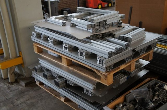 Maytec BSB - ISB Aluminum Profile systems