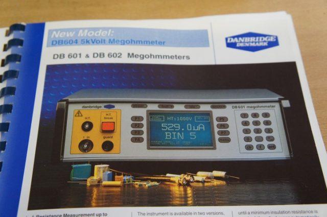 Danbridge DB 601 Megohmmeter
