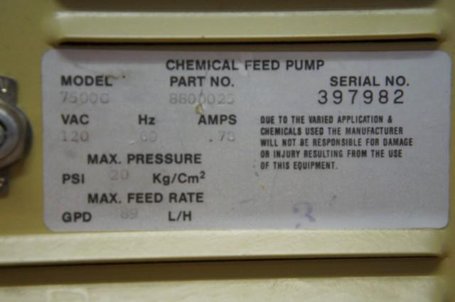 Ecodyne chemische vloeistofpomp