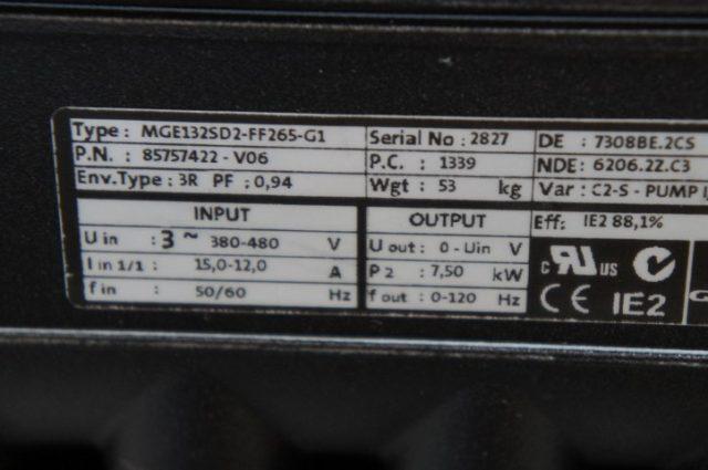 Grundfos MTRE5-10/10 Centrifugal Coolant Pump