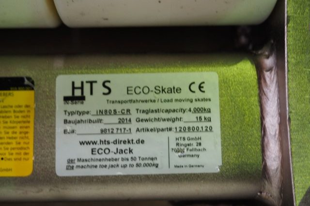 HTS ECO-Skate Cleanroom Moving Systems