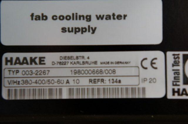 Haake Wasser umlaufkühler - Wasserkühler