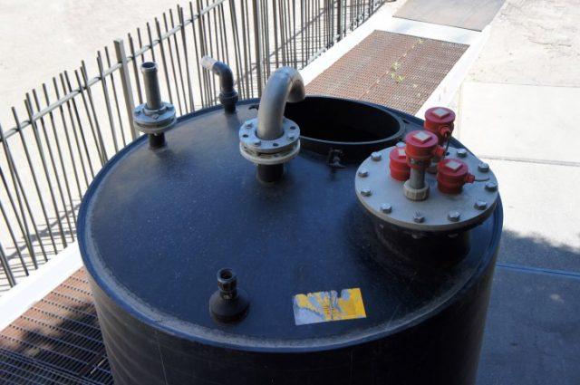 Schwaben Kunststof Vloeistof Silo - Tank 5000 Liter