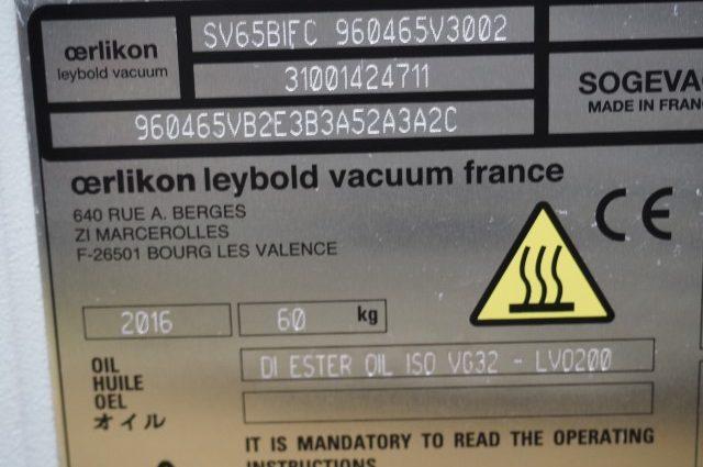 Leybold Sogevac SV65 BI FC Vakuumpumpe