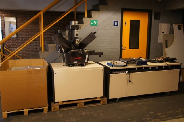 Mikroskop Cameca SX-50 electron microprobe