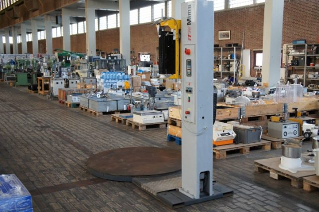 Mima systems Ecomat 2000 Pallet Wrapping Machine