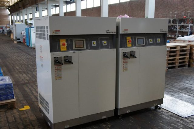 SMC Thermo Chiller Model INR-497-016