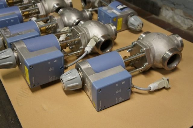 Siemens MXG462 Magnetic control valve