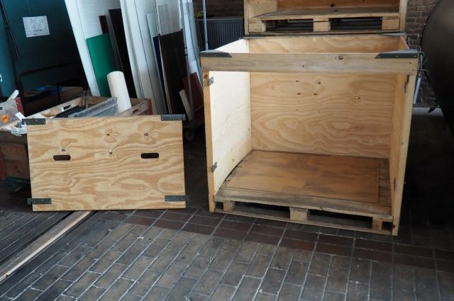 Heavy Industrial Wooden Crates