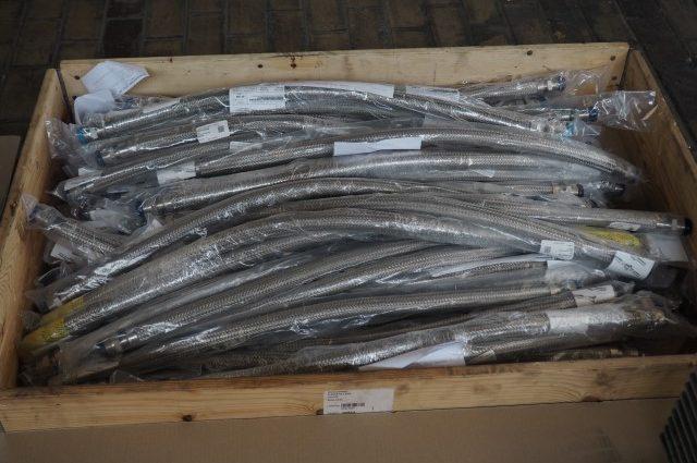 Swagelok SS-FJ12 Stainless Steel Braided Vacuum Hose (New)
