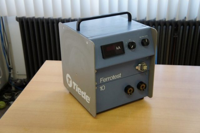 Tiede Ferrotest 10 Demagnetizing AC Power Supply