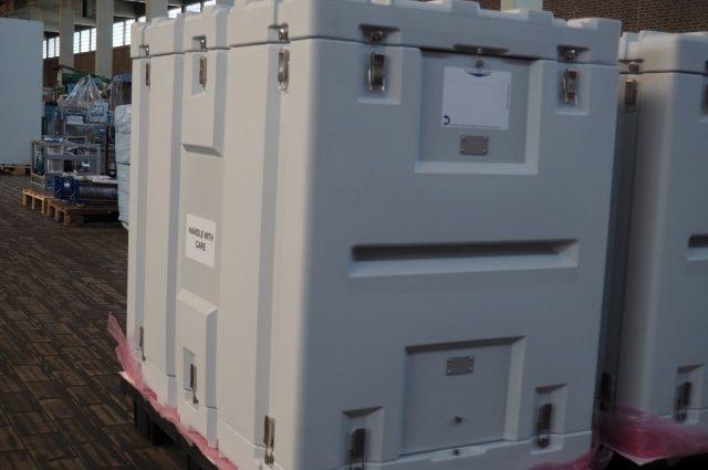 Plastic Cleanroom Transport Cases