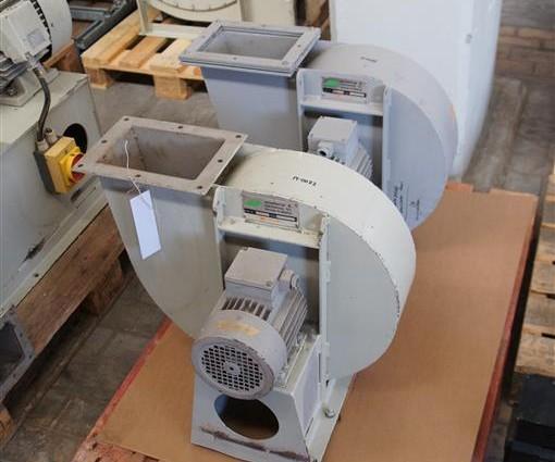 Ventilator Asselbergs 1.1 Kw, 380V, 2840L/min