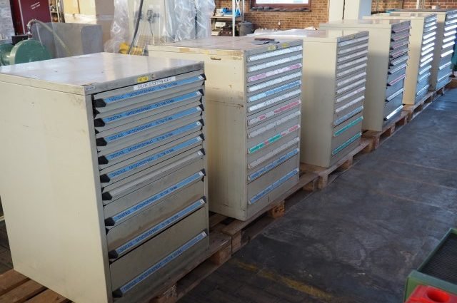 Ahrend Industrial Tool Drawer Cabinets